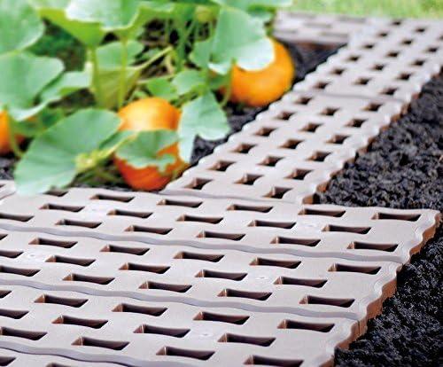 Beetplatten Zeltboden Gartenweg Campingboden Fußplatten 1 VPE 10 Stk.