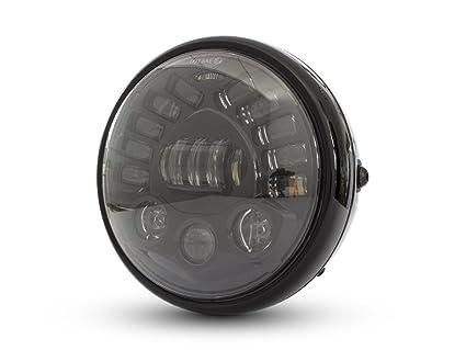 Moto LED Faro Integrado Indicadores 7.5 inch Proyector a Medida ...