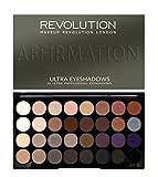 Makeup Revolution London 32 Eyeshadow Affirmation Palettes, Multi-Color, 20g