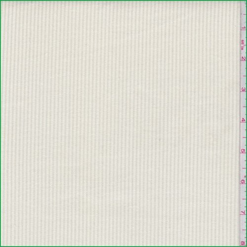 Buttercream Cotton Corduroy, Fabric by The Yard