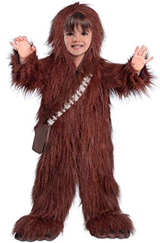 Princess Paradise Baby Classic Star Wars Premium Toddler Chewbacca, Brown 2T -