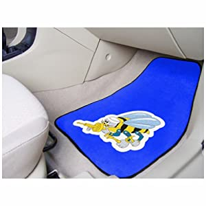 FanMats Front Carpet Car Mats NAVY Seabees Logo 2 Pcs Floor Liners from Fanmats