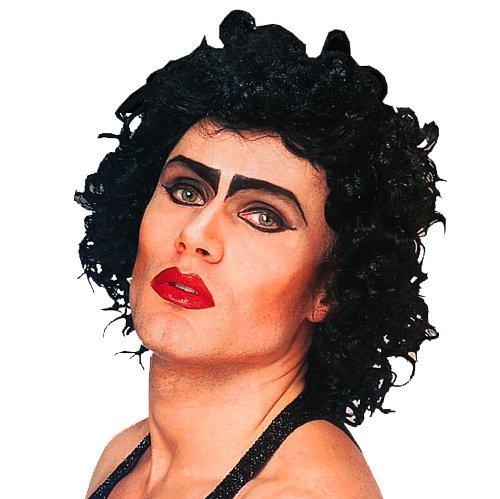 Black Frank N Furter Wig Rocky Horror Show Halloween Fancy Dress by Home & Leisure Online