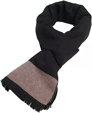 Wool Cashmere Winter Warm Scarf Neck Wrap Scarves Mens Scarves,I