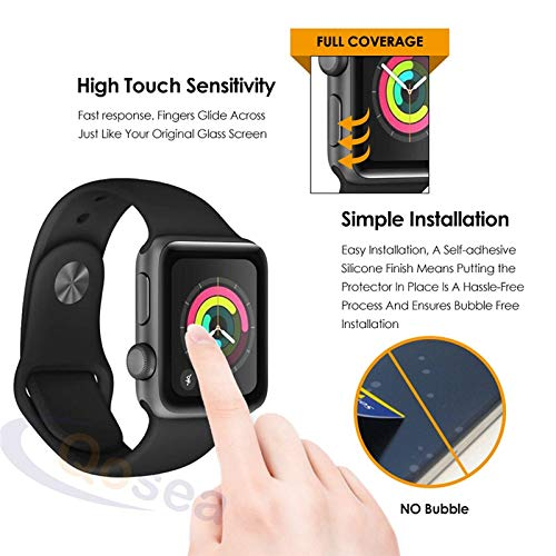 BATOP Apple Watch Screen Protector || qosea for Apple Watch Series 4 40mm 44mm Tempered