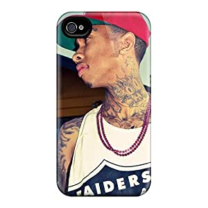 DrawsBriscoe Iphone 4/4s Shock Absorption Hard Phone Case Customized Realistic Tyga Pattern [Kbk16659iGeJ]
