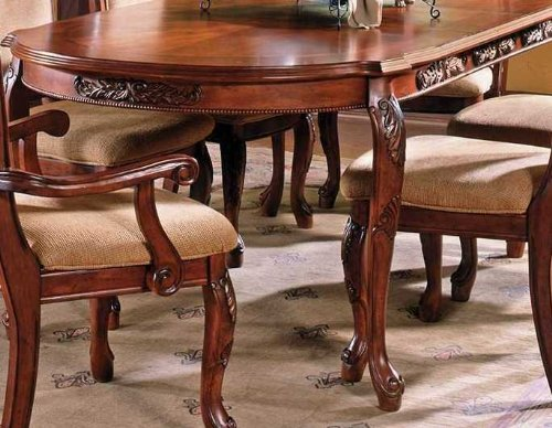Steve Silver Company Harmony Dining Table with 18