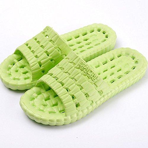 Swiser Anti-Slip House Sandal Bath Slipper Indoor Floor Slipper -Green by Swiser
