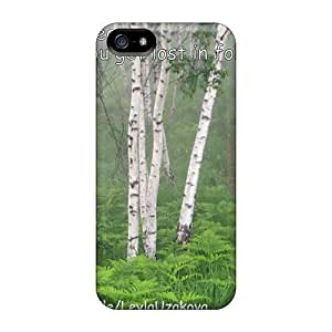 Excellent Design Lost In Forest Alone Case Cover For Iphone 5/5s