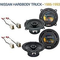 Nissan Hardbody Truck 1986-1993 OEM Speaker Upgrade Harmony Speakers Package New