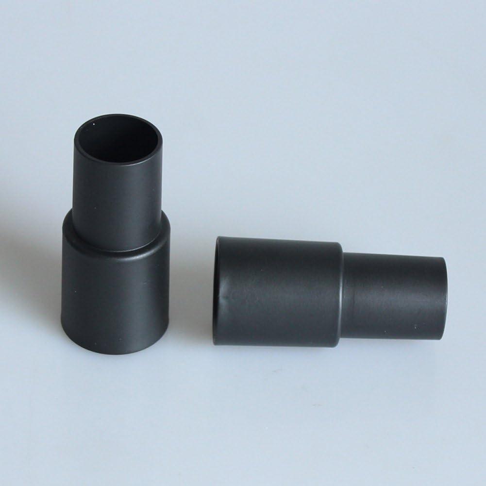 schwarz 32 mm auf 35 mm Schlauchadapter Kit f/ür Elektrowerkzeug f/ür Staubsauger Adapter Schlauch Konverter Teil Staubanschluss Adapter