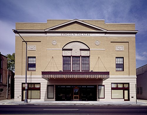 Vintography 24 x 36 Giclee Print of Lincoln Theatre 1215 U Street Next to Ben's Chili Bowl in Washington D.C. r51 [Between 1980 and 2006] by Highsmith, Carol M, (Best Chili In Dc)