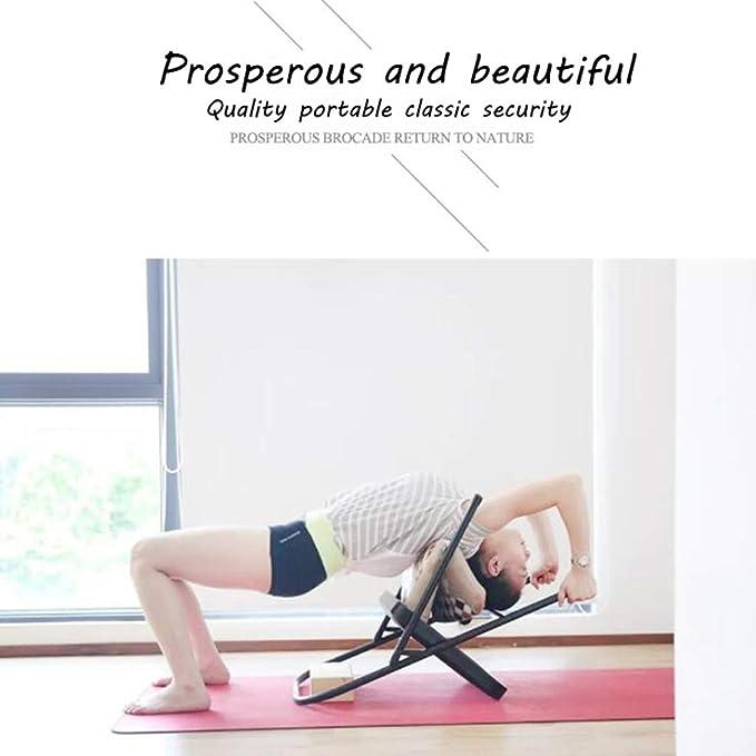 Pilates Silla de Yoga Iyengar, Tirantes, Silla Plegable de ...