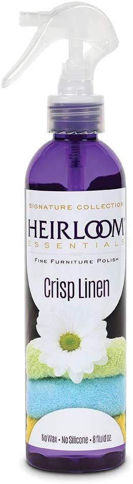Heirloom Essentials Furniture Polish (Crisp Linen), 8 Ounce