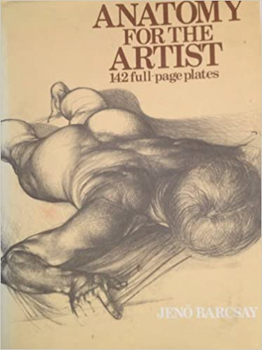Anatomy for the artist: Jeno Barcsay: 9781566192453: Amazon.com: Books