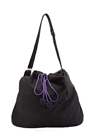 90e2154df506 Capezio B113 Black Slouch Hobo Bag.  Amazon.co.uk  Clothing