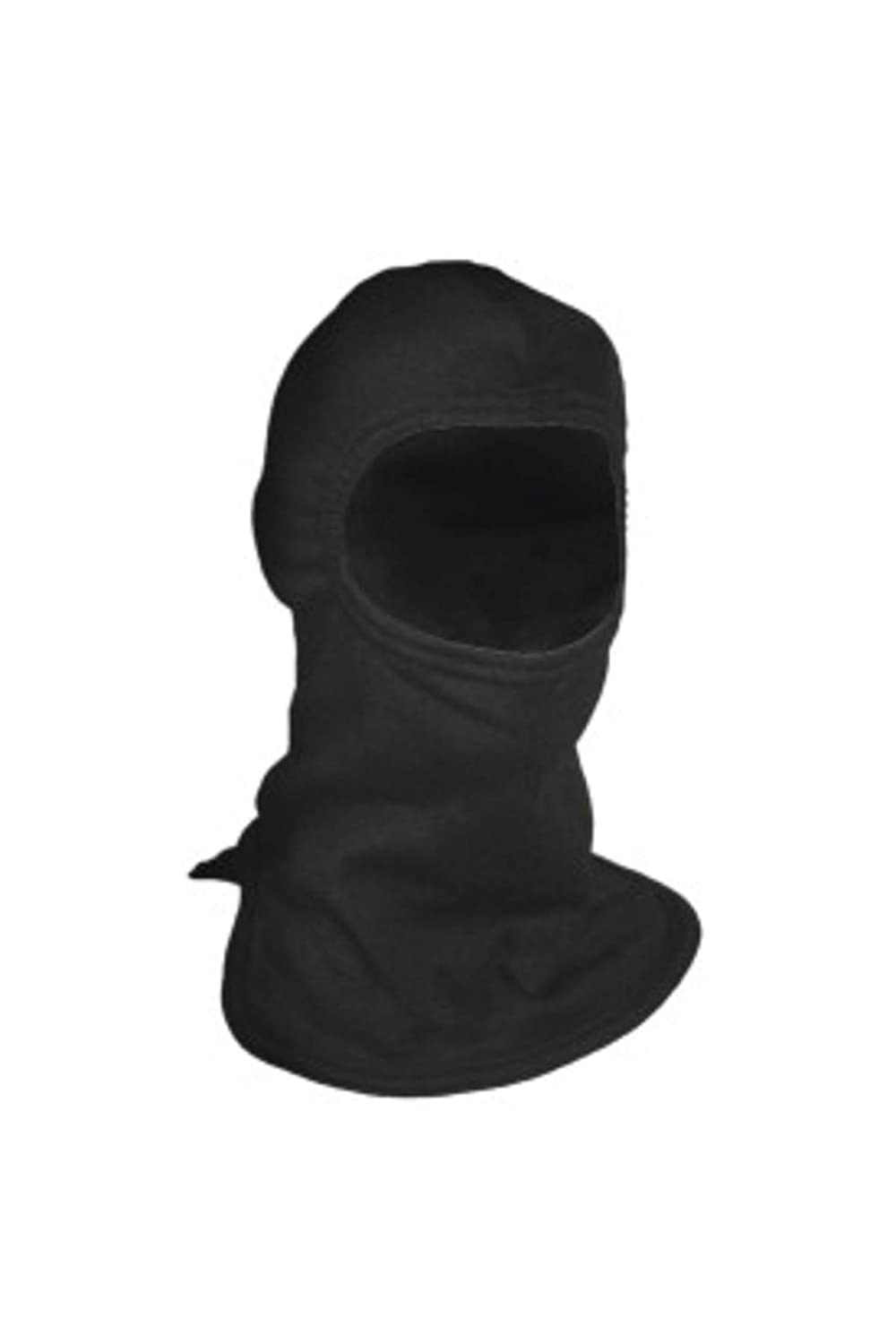 National Safety Apparel H25CX FR Double Layer Carbon Hood (Wider Cut), 23 Calorie, One Size, Black by National Safety Apparel Inc
