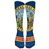 Idaho Athletic Tube Stockings Women's Men's Classics Knee High Socks Sport Long Sock One Size