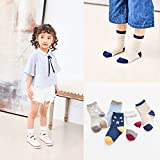 XIU*RONG Spring And Autumn Socks And Cotton Children'S Socks And Socks Boys And Girls In The Baby Socks 1-3-5-7-9-12 Years Old Children'S Socks (10 Pairs) 14-16Cm My Boy