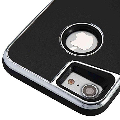JIALUN-carcasa de telefono Caja extraíble del teléfono de la contraportada para IPhone 7 ( Color : Blue ) Black