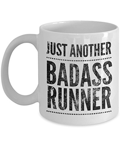 Just Another Badass Runner Coffee Mug - Cool Coffee Cup