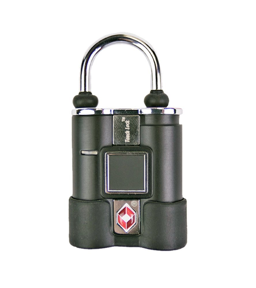 BIO-key TouchLock TSA Approved Smart Luggage Lock, Black by BIO-key