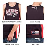 Ultra Game NFL Cleveland Browns Mens Mesh Tank Top