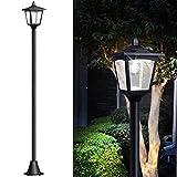 "67"" Solar Lamp Post Lights Outdoor, Solar Powered"