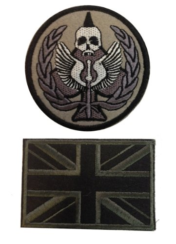 Modern Warfare 2 Task Force 141 Ghost Tactical Patch Armbands