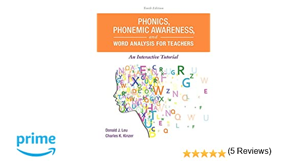 Amazon.com: Phonics, Phonemic Awareness, and Word Analysis for ...