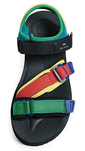 Ps Door Paul Smith Mens Formosa Sandalen Zwart / Multi