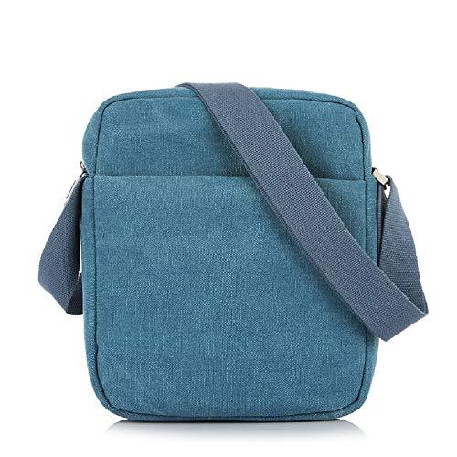 Maletín Messenger del portátil Evershop Mochila Ordenador Bolso de Bag Bolso Business ZHRUI de Hombro Casual Azul Hombro Bolso 7qt1Px4