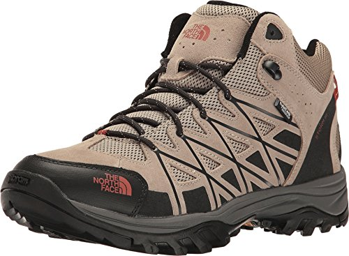 The North Face Storm III Mid WP Boot Men's Dune Beige/Arabian Spice 10