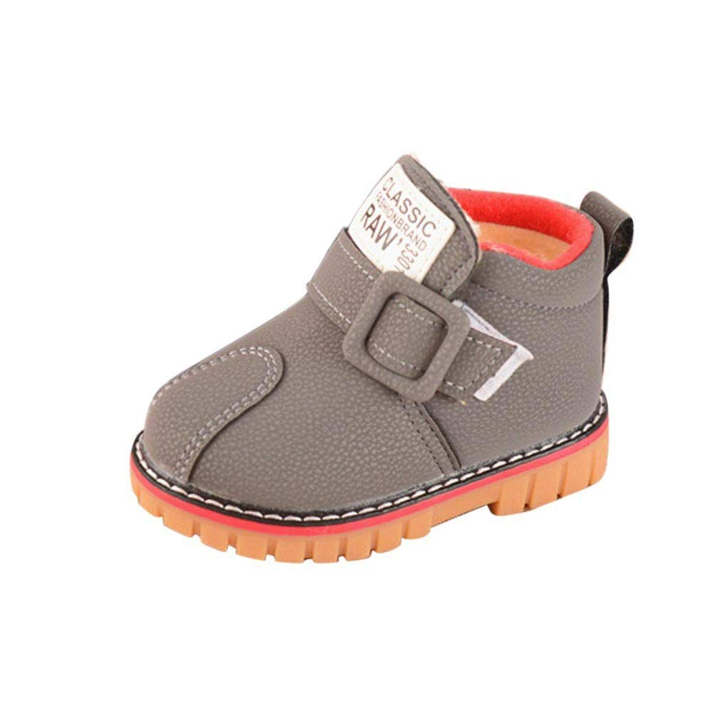 Baby Crib Shoes for Boy Girl Non-Slip Bottom Toddler Waterproof Walkers Sneaker