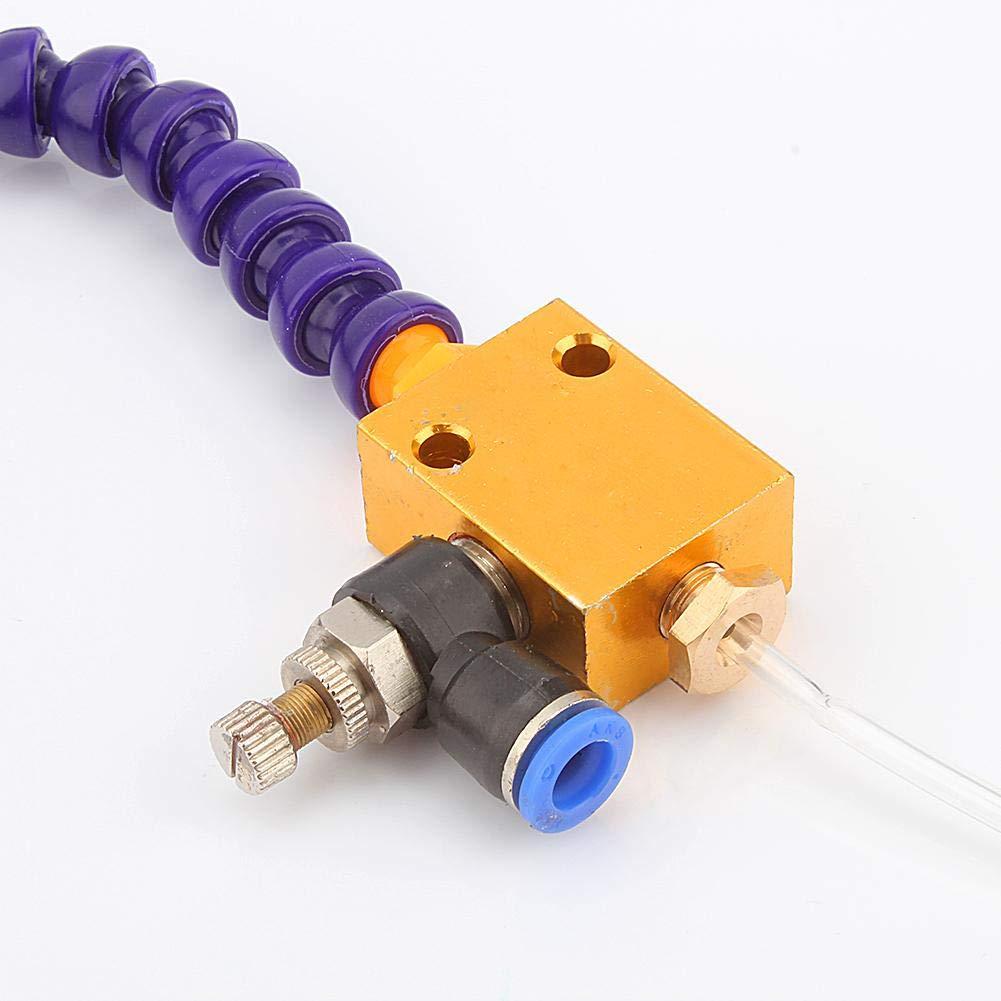 FTVOGUE Mist Lubrication rectificado taladrado Sistema de pulverizaci/ón de refrigerante para el torno CNC de metal tallado de m/áquina fresado
