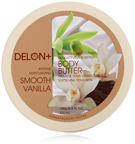 Delon Smooth Vanilla Body Butter - Vanilla Body Butter