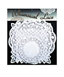 Sisson Imports Doilies Whimsical Lace, Assorted Square & Round, Pack of 80