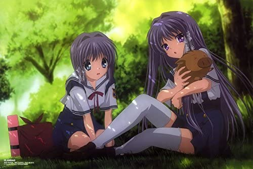 Amazon Com Clannad After Story Customized 21x14 Inch Silk Print