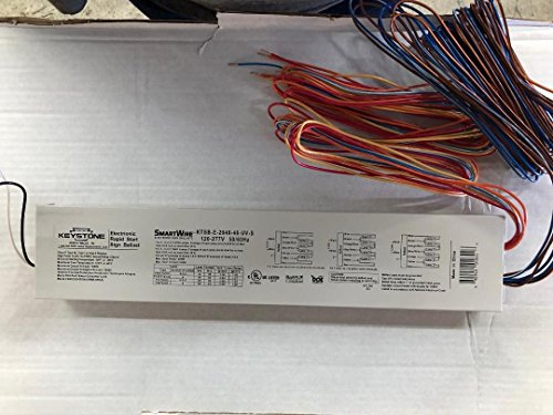 KEYSTONE KTSB-E-2048-46-UV-S 120-277V RAPID START ELECTRONIC SIGN BALLAST FOR USE WITH 4 TO 6 T8/HO T12/HO LAMP