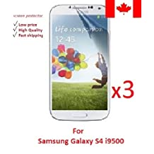 Electroclick x3 HD Clear film guard screen protector cover shield LCD for samsung galaxy s4 i9500