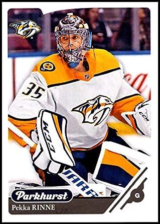 2018-19 Parkhurst Hockey  210 Pekka Rinne Nashville Predators Official NHL  Trading Card made a8682891c