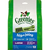 Greenies Hip & Joint Care Dental Chews for Dogs, Large, 12 Count (Pack of 24)