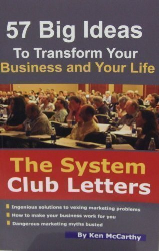 System Club Letters: 57 Big Ideas to Transform Your Business and Your Life pdf epub