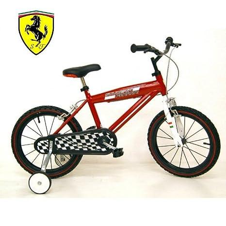 Bicicletta Bimbo 16 Ferrari