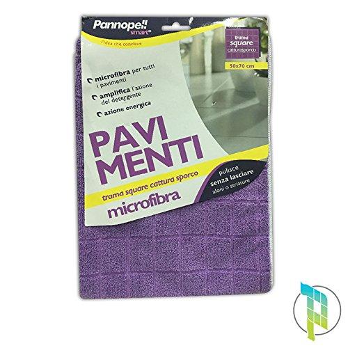 Palucart® 12 Panni Microfibra Pavimenti eudorex pannopell 50 x 70 Quadro Panno Pavimenti igiene casa Palucart®