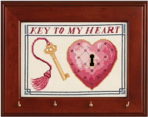 Sudberry House 11061 Key Rack, 7 by 9-Inch, Mahogany