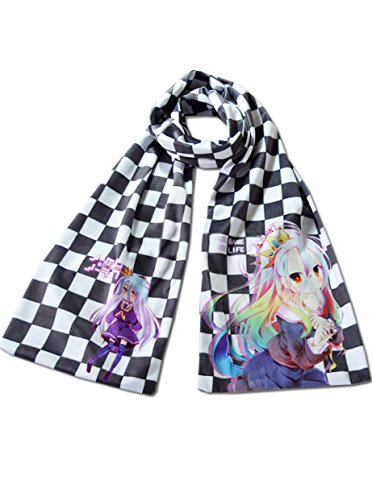 Dreamcosplay Anime NO GAME NO LIFE Logo Winter Scarf