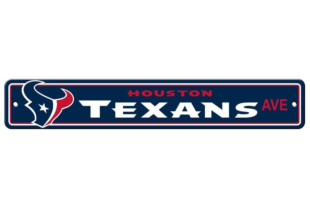 Fremont Die NFL Houston Texans Plastic Street Sign