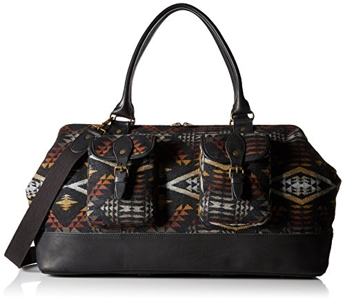 Pendleton Men's Jacquard Weekender, Diamond River/Black, One Size by Pendleton