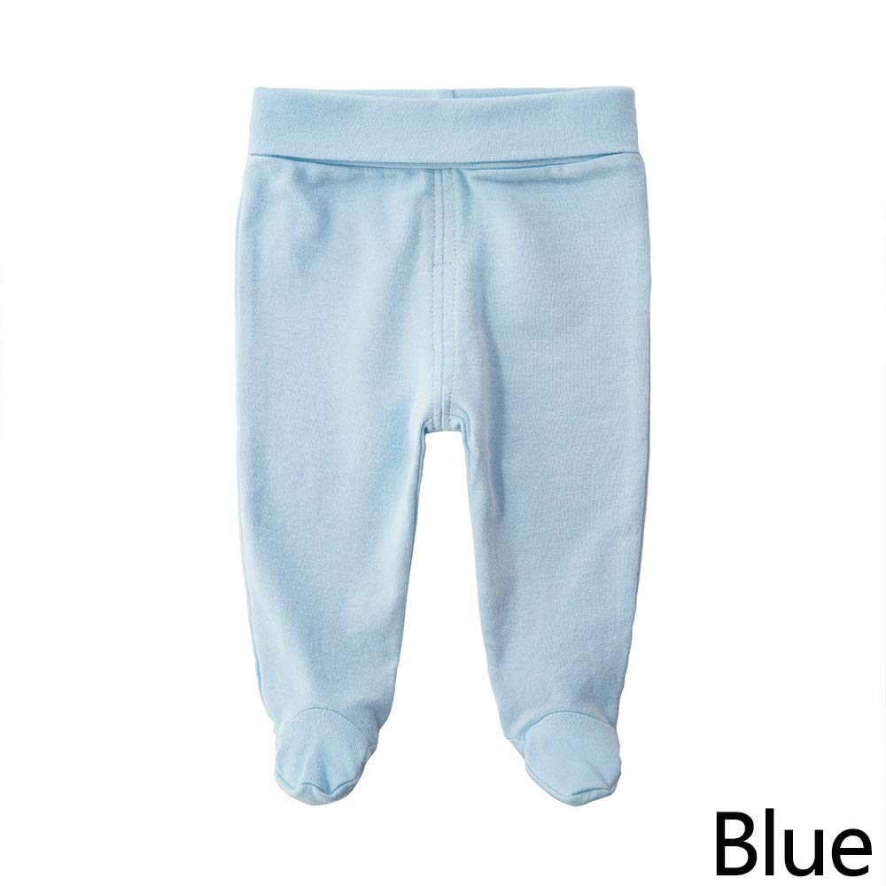 Baby Cotton High Waist Footed Pants Casual Leggings Elastic Stocking Trousers Pantyhose Bottom Socks for Newborn Infant